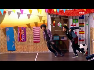 Les twins on french tv show part 2