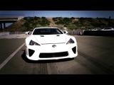 Lexus LFA vs Nissan GT-R 2012 Drag Race [BMIRussian]
