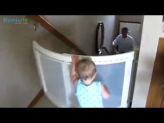 как реагируют дети когда папа возвращается домой