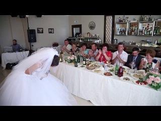 Невеста благодарит маму - свою и мужа...красивый стих..