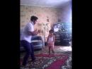 мой братишка с дочкой Настей