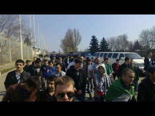 Проход к стадиону. Локомотив-Терек(19.04.2014) Черкизово
