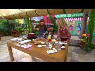 Maria Eduarda e sua filha Luiza cozinham para Anglica anote as receitas!