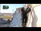 Выстрел из гранатомёта по маскировки исламистов, Сирия