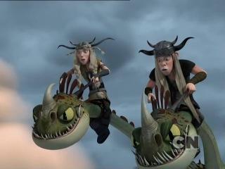 Драконы: Защитники Олуха - Новые серии с сегодняшнего дня