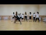 Отчётный концерт детского лагеря для девочек - Современный танец