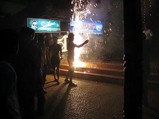 Новый 2012 год в Коваламе, Индия 2012