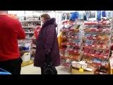Троллинг в магазине Магнит Золотая курочка (прикол приколисты прикольный смешное видео розыгрыш ржач угар смех до слез новое