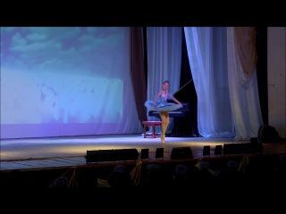 Вариация с колокольчиками.Настя Хабарова.9 лет.Школа танцев PrimadoNNa