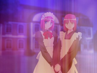 Tsukihime Anime 2d Game Melty Blood Re-Act Eng Lizenzed Op