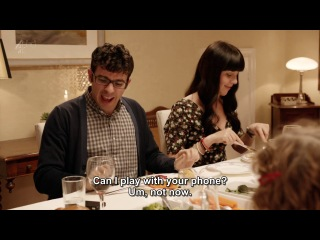 Обед в пятницу вечером (Friday Night Dinner) s03e01 The Girlfriend [ENG|SUB]