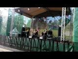Фрагмент выступления группы Funny Kaplan. Пикник в городе. Уктус 14.06.2014)