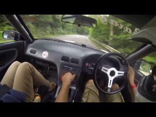 Дрифт от первого лица на Nissan Silvia в исполнении Питера Гуви (Pieter Gouwy)