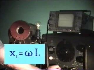 92.  Катушка индуктивности в цепи переменного тока