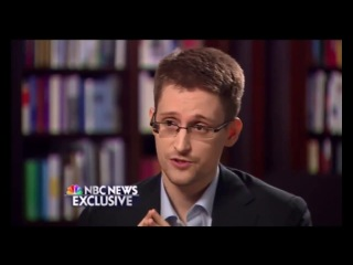 Edward Snowden NBC NEWS FULL INTERVIEW 2014