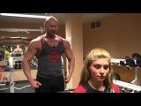 Большая красивая грудь и тренировки. Как накачать большие сиськи девушке.