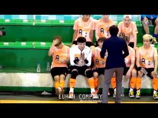 140612 EXO Luhan Fancam Focus Dream Concert - Idol Futsal World Cup MBC