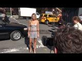 Katrina Bowden at Spring 2013 Mercedes-Benz Fashion Week ...