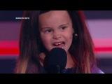 Виталий Гогунский и его четырехлетняя дочь Милана в шоу «Один в один!» - Григорий Лепс и Ани Лорак «Зеркала»