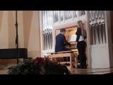 И. С. Бах - Фантазия и фуга до минор (Исп. Иван Царев)