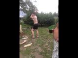 Как правильно рубить дрова 2.Отдыхаем:D