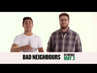 Neighbors 'Don't Skip' TV Spot (2014) Seth Rogen, Zac Efron HD