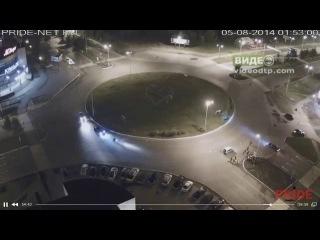 Авария на кольце Чапаева - Ленина 05.08.2014 | ДТП авария