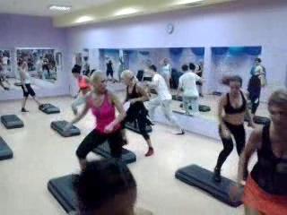 Тренировки с Андреем Краснопиром.Фитнес-клуб СПОРТ ТАЙММариуполь.