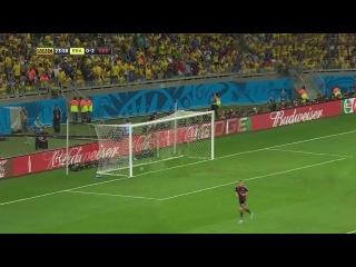 Бразилия — Германия (как на самом деле прошел матч)
