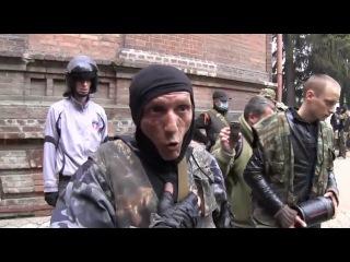 Раненного украинского пилота Ми 24 бросили свои!!! Славянск