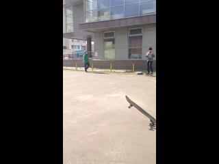 Унас в скейт парке