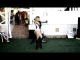 JUNKY FUNKY Duet Sandra Pioner  high heels - go go dance  Gimme more  Work bitch