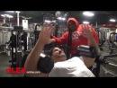 Jay Cutler & Kai Greene Train @ Bev Francis Powerhouse Gym