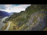 Горный Алтай. Красоты долины реки Катунь с высоты. (Nature of Altai)