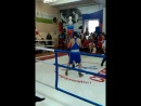 My first Boxing fight