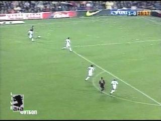 Чемпионат Испании 2000-01 / 6-й тур / Барселона - Реал Мадрид 2 тайм / НТВ+ [21.10.2000 г., Футбол, TVRip]