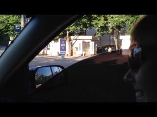 Кривой Рог-поездка на пл.Освобождения!=)