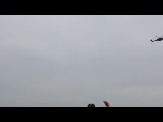 Авиационный парад в Севастополе 09.05.14(вертолёты)