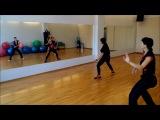 Dançando !!! shakira e Ivette Salgado