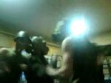 армейская пати в противогазах.в армии тоже бывает весело)))учебка г.зерноград 3.р2.б:)
