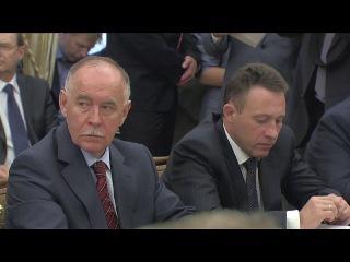Выступление на заседании Совета Безопасности по вопросу реализации государственной политики в Арктике. 22 апреля 2014 года, Москва, Кремль