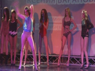 FRENZY:III фестиваль по стрип-пластике и Go-go: Ксения Баранова