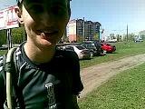 Виталий Власов после финиша - полубривет 27.04.14