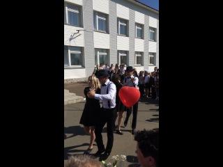 Танец, Последний звонок, МБОУ Павловский лицей, Выпуск 2014