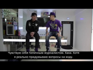 [RUS SUB] AOMG TV - Loco's Interview by Jay Park