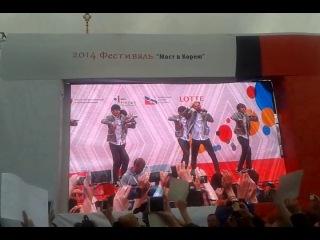 20140615 BTS / BangTan in Moscow - N.O (Фестиваль