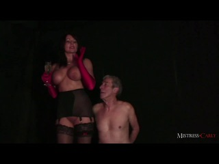 Champagne for mistress carly, hot piss for a worthless slave