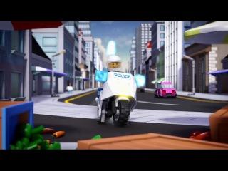 Лего Сити побег из тюрьмы