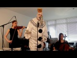 Chandelier - Sad Clown with the Golden Voice Sia Cover ft. Puddles