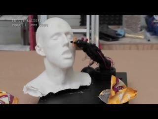 Робот, который кормит.